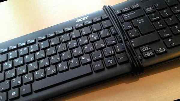 Почему не работает половина клавиатуры