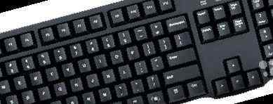 Фото объявления: Logitech Classic Keyboard K100 Black PS/2